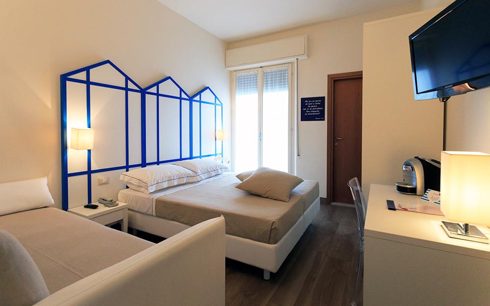 Mini Hotel Rimini - Miramare di Rimini - camera family
