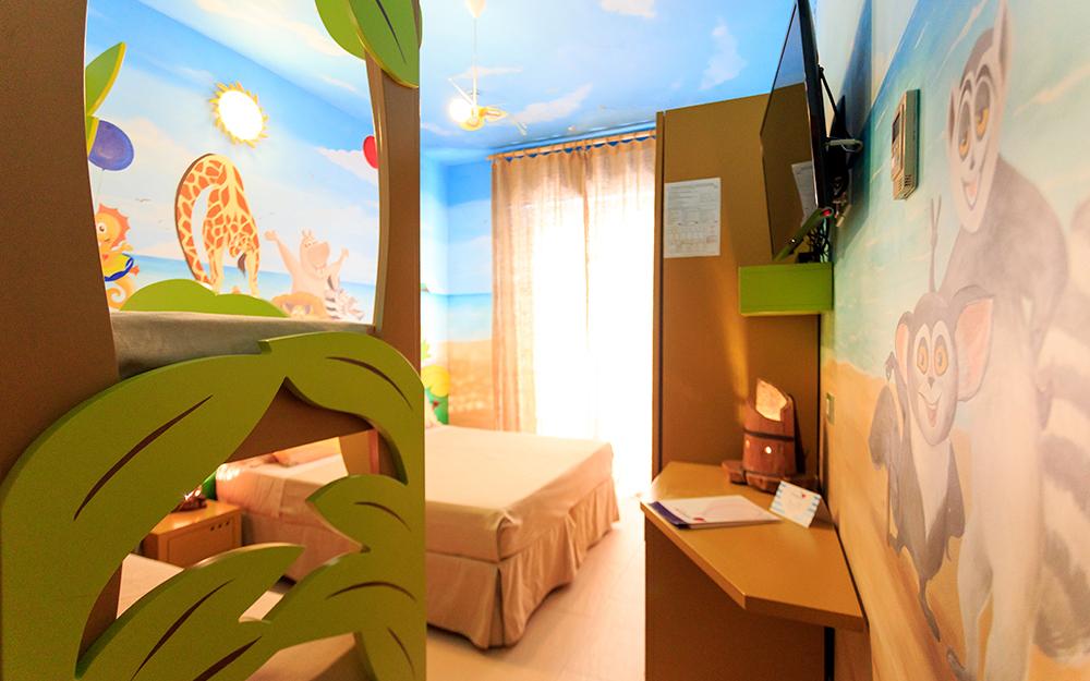 Mini Hotel Rimini - Miramare di Rimini - camera Madagascar
