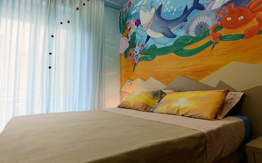 Mini Hotel Rimini - Miramare di Rimini - camera Sharky